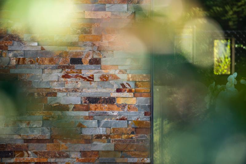 Beltrami Rusty slate stonepanel