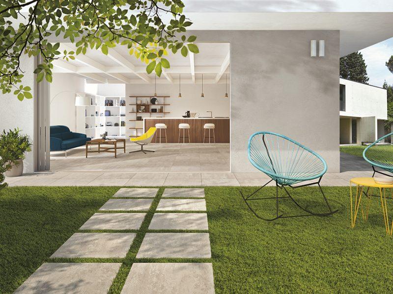 Bouwpunt kies je terrastegels klinkers of grind bij bouwpunt