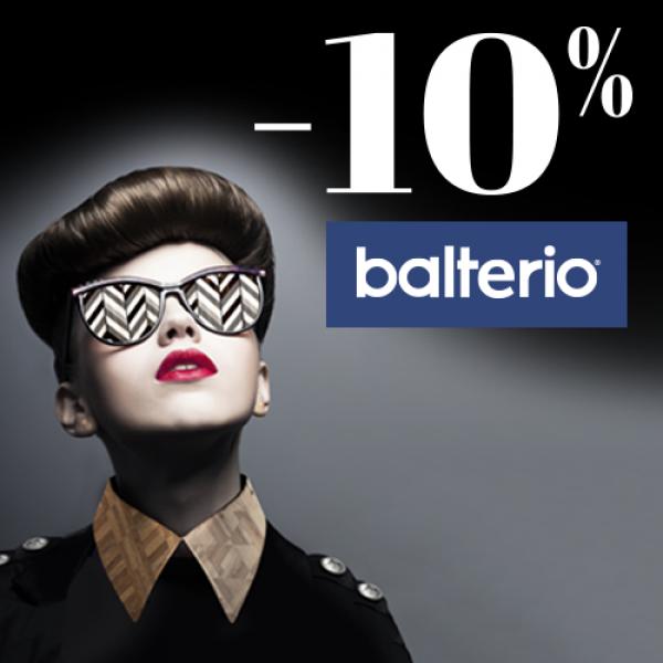 - 10% op alle Balterio laminaatvloeren