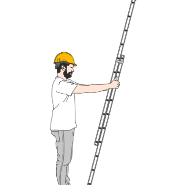 Do's & don'ts met steigers en ladders