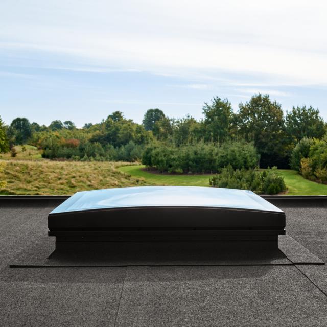 Creëer licht, zuurstof en sfeer via dakramen in een plat dak
