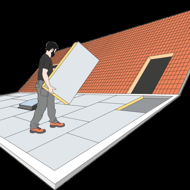 Voorkom insijpeling bij een plat dak
