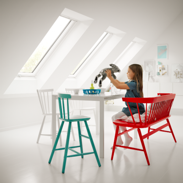 Zolderrenovatie: breng licht binnen met Velux en Fakro
